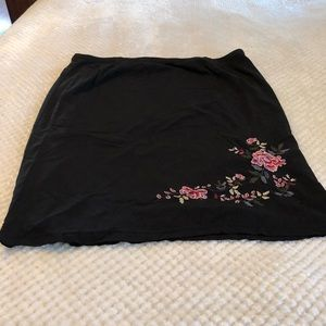 Encore size 18 embroidered Skirt